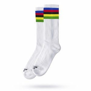 Skarpety American Socks Champion - Mid High white/multicolor