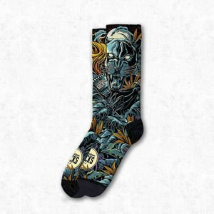 Skarpety American Socks Savage Panther Signature