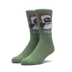 Skarpety HUF December Dudes Series Sock green