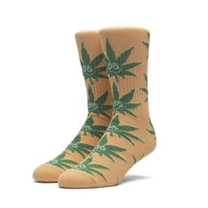 Skarpety HUF Green Buddy Crew Sock orange