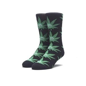 Skarpety HUF Green Buddy Crew Socks black