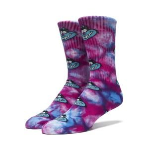 Skarpety HUF Mad Kat Crew Socks purple