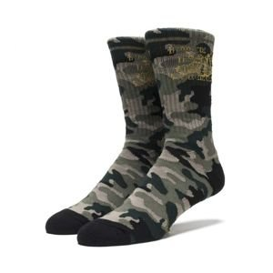 Skarpety HUF Make Em Say Camo Crew Socks camo