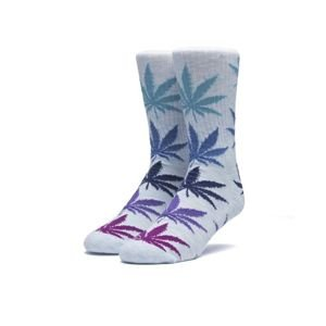 Skarpety HUF Melange Plantlife Socks light blue