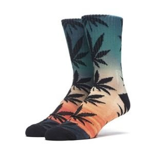 Skarpety HUF Outdoors Digital Plantlife Crew Sock sunrise
