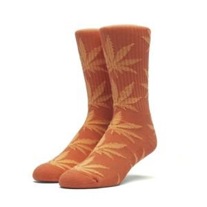 Skarpety HUF Plantlife Crew Sock orange / neon orange
