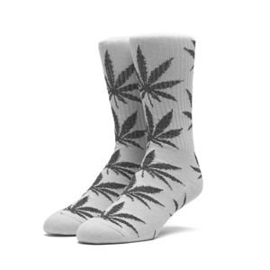 Skarpety HUF Tinsel Plantlife Sock grey / black