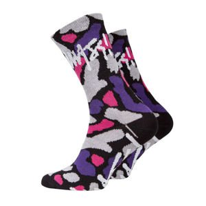 Skarpety Mass Denim Signature Socks purple camo