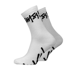 Skarpety Mass Denim Signature Socks white