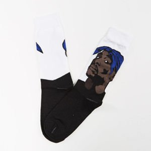 Skarpety Mass Denim socks Pac Quarter white SS 2017
