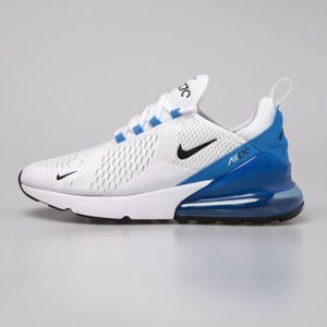 Sneakers Buty Air Max 270 white / black-photo blue (AH8050-110)