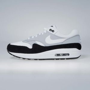 Sneakers Buty Nike Air Max 1 wolf grey / white - black AH8145-003