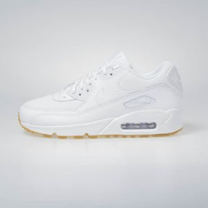 Sneakers Buty Nike WMNS Air Max 90 white/white-gum light brown (325213-135)