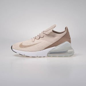 Sneakers Buty damskie Air Max 270 Flyknit guava ice/particle beige (AH6803-801)