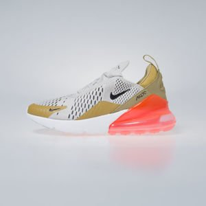 Sneakers Buty damskie Air Max 270 flt gold / black - light bone AH6789-700