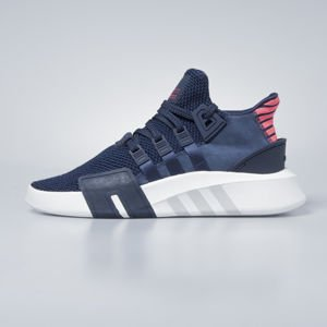 Sneakers buty Adidas Originals EQT Bask ADV collegiate navy / collegiate navy / real coral CQ2996
