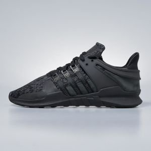 Sneakers buty Adidas Originals EQT Support ADV core black / core black / sub green BY9589
