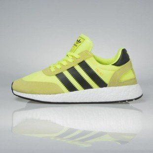 Sneakers buty Adidas Originals Iniki Runners solar yellow / core black / footwear white BB2094