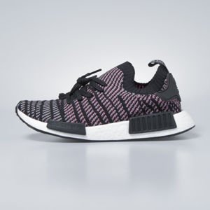 Sneakers buty Adidas Originals NMD_R1 STLT PK core black / grey four / solar pink CQ2386
