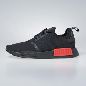 Sneakers buty Adidas Originals NMD_R1 core black / lush red (B37618)