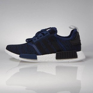Sneakers buty Adidas Originals NMD_R1 mystery blue / core black / collegiate navy BY2775