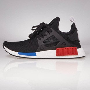 Sneakers buty Adidas Originals NMD_XR1 PK black / black - white BY1909