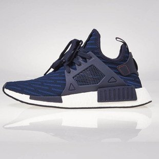 Sneakers buty Adidas Originals NMD_XR1 PK collegiate navy / collegiate navy / core BA7215