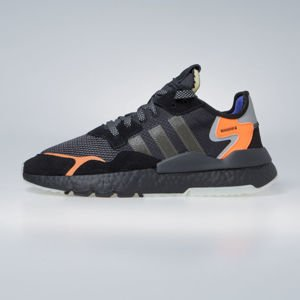Sneakers buty Adidas Originals Nite Jogger core black / carbon / active blue (CG7088)
