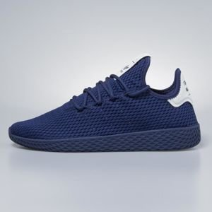 Sneakers buty Adidas Originals Pharrell Williams Tennis HU blue / blue / running white BY8719