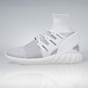 Sneakers buty Adidas Originals Tubular Doom footwear white / footwear white / clear BY3553