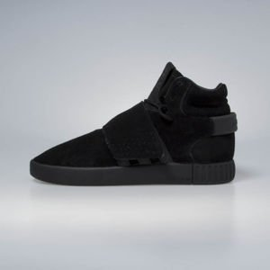 Sneakers buty Adidas Originals Tubular Invader Strap core black / core black / footwear white BY3632
