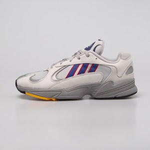 Sneakers buty Adidas Originals Yung-1 grey two / collegiate royal / scarlet (CG7127)