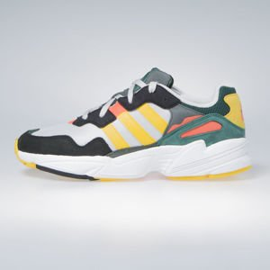 Sneakers buty Adidas Originals Yung-96 grey one/bold gold/solar red (DB2605)