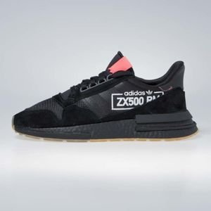 Sneakers buty Adidas Originals ZX 500 RM core black/bluebird (BB7443)