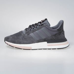 Sneakers buty Adidas ZX 500 RM grey five/ ftwr white/clear orange (B42217)