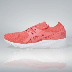 Sneakers buty Asics WMNS Gel-Kayano Trainer Knit peach / peach H7N6N-7676