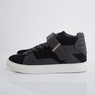 Sneakers buty Cayler&Sons Sashimi black suede / stingray / creme