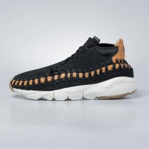 Sneakers buty Nike Air Footscape Woven Chukka Premium black / black russet - sail 446337-002