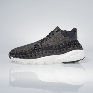 Sneakers buty Nike Air Footscape Woven Chukka Se black / black-ivory 857874-001