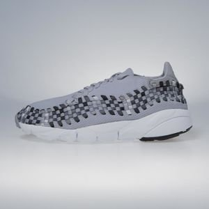 Sneakers buty Nike Air Footscape Woven NM wolf grey / black - dark grey 875797-004