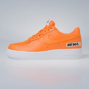 Sneakers buty Nike Air Force 1 '07 LV8 JDI LTHR total orange (BQ5360-800)