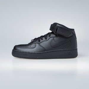 Sneakers buty Nike Air Force 1 '07 Mid black WMNS (366731-001)