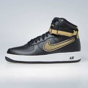 Sneakers buty Nike Air Force 1 High '07 LV8 Sport black/metallic gold-white (AV3938-001)