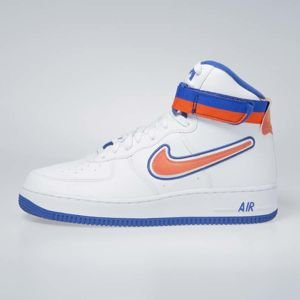 Sneakers buty Nike Air Force 1 High '07 LV8 Sport white/team orange-game royal (AV3938-100)