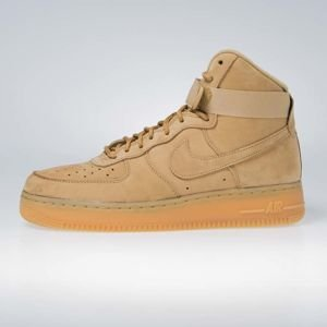 Sneakers buty Nike Air Force 1 High '07 LV8 WB flax/flax-outdoor green (882096-200)