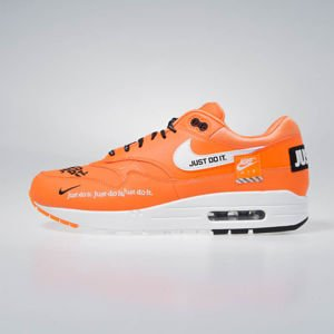 Sneakers buty Nike Air Max 1 LX total orange/white-black (917691-800)