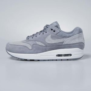 Sneakers buty Nike Air Max 1 Premium cool grey / wolf grey - white 875844-005