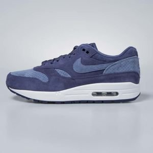 Sneakers buty Nike Air Max 1 Premium neutral indigo / diffused blue 875844-501