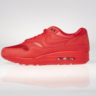 Sneakers buty Nike Air Max 1 Premium university red / university red 875844-600