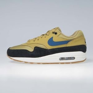 Sneakers buty Nike Air Max 1 golden moss/blue force-black (AH8145-302)